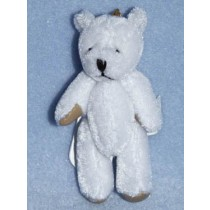 "3"" White Plush Bear"