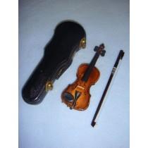" Instrument - Violin - 4 1_2""  Wood"