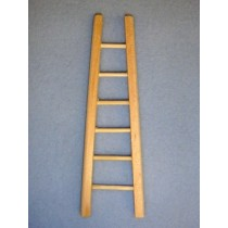 "4 3_4"" Miniature Wooden Ladder"