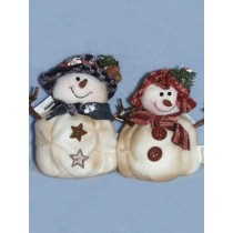 "4"" Assorted Boy or Girl Snowman"