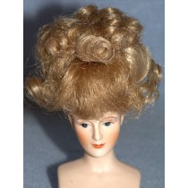 "4"" Blond Mini Jamie Wig"
