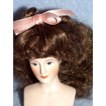 "4"" Brown Mini Princess Wig"