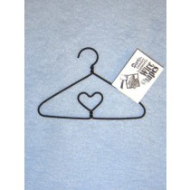 "4"" Clothes Hanger w_Heart"
