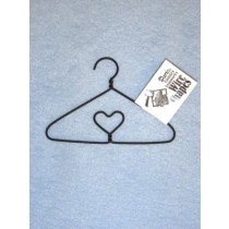 "|4"" Clothes Hanger w_Heart"