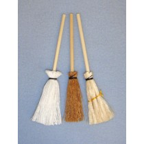 "4"" Miniature Mop & Brooms"