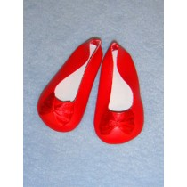"4"" Red Fancy Slip-Ons"