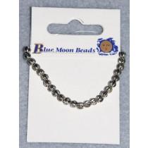 4mm Round Silver Spacer Beads - Pkg_24