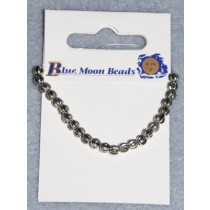4mm Round Silver Spacer Beads - Pkg_24