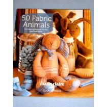 50 Fabric Animals Book