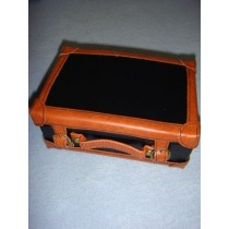 |Small Leather-Like Suitcase