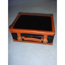 |Medium Leather-Like Suitcase