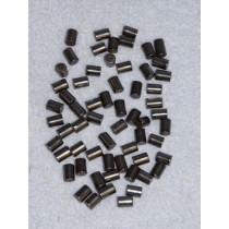 5mm x 7mm Tube Hematine Beads - Pkg_60