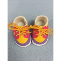 "Shoe - Sporty - 2 3_4"" Pink_Yellow"