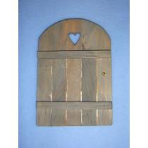 """6"""" Miniature Wooden Door"""