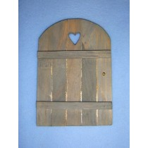 "6"" Miniature Wooden Door"