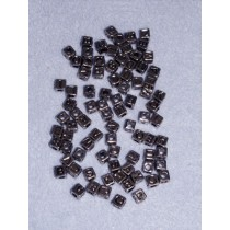 6mm Silver Alphabet Bead Pkg_85