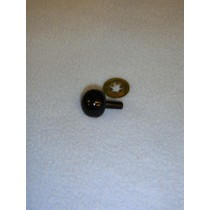 7.5mm Black Ball Noses - Pkg_50
