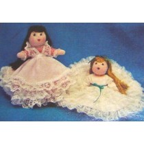 "8"" Darling Cloth Doll Pattern"