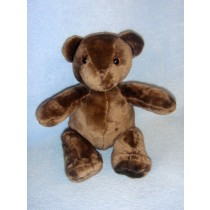 "8"" Plush Sitting Brown Bear"