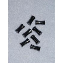 8mm x 16mm Bone Hematine Beads - Pkg_8
