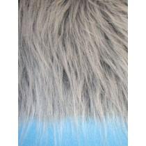 """Craft Fur - Black Frost  9"""" x 12"""""""