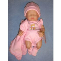 "9.5"" La Newborn Play Doll - Closed Eyes"