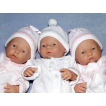 "9.5"" La Newborn Play Doll - Open Eyes (3 Faces)"