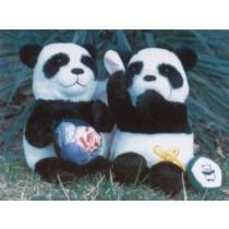 """Amanda 12"""" Panda"""