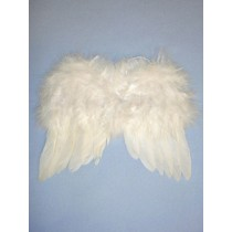 Angel Feather Wings - White