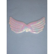"Angel Wings - 3 3_4"" White Pearl"