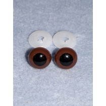Animal Eye - 10mm Brown Pkg_100