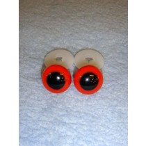 Animal Eye - 10mm Red Pkg_100