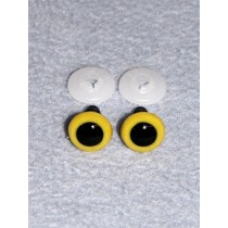 Animal Eye - 10mm Yellow Pkg_100