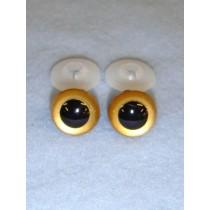 Animal Eye - 12mm Gold Pkg_100