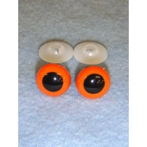 Animal Eye - 12mm Orange Pkg_100