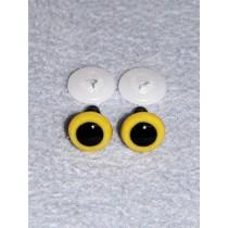 Animal Eye - 12mm Yellow Pkg_100
