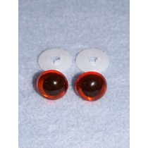 Animal Eye - 13.5mm Amber Pkg_100