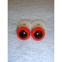 Animal Eye - 13.5mm Red Pkg_100