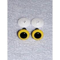 Animal Eye - 13.5mm Yellow Pkg_100