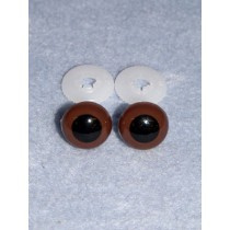 Animal Eye - 15mm Brown Pkg_50