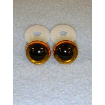 Animal Eye - 15mm New Yellow Pkg_50