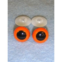Animal Eye - 15mm Orange Pkg_50