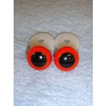 Animal Eye - 15mm Red Pkg_50