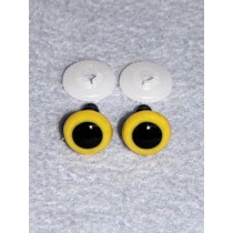 Animal Eye - 15mm Yellow Pkg_50
