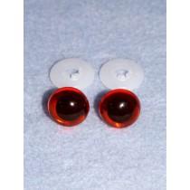 Animal Eye - 16.5mm Amber Pkg_50