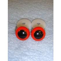 Animal Eye - 16.5mm Red Pkg_50