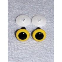 Animal Eye - 16.5mm Yellow Pkg_50