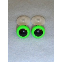 Animal Eye - 18mm Bright Green Pkg_50