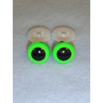 Animal Eye - 20mm Bright Green Pkg_50