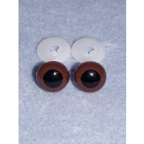 Animal Eye - 20mm Brown Pkg_50